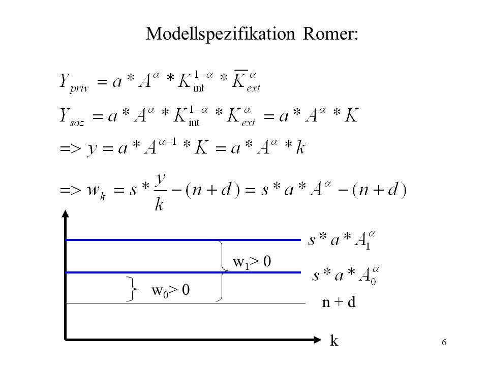 Modellspezifikation Romer: