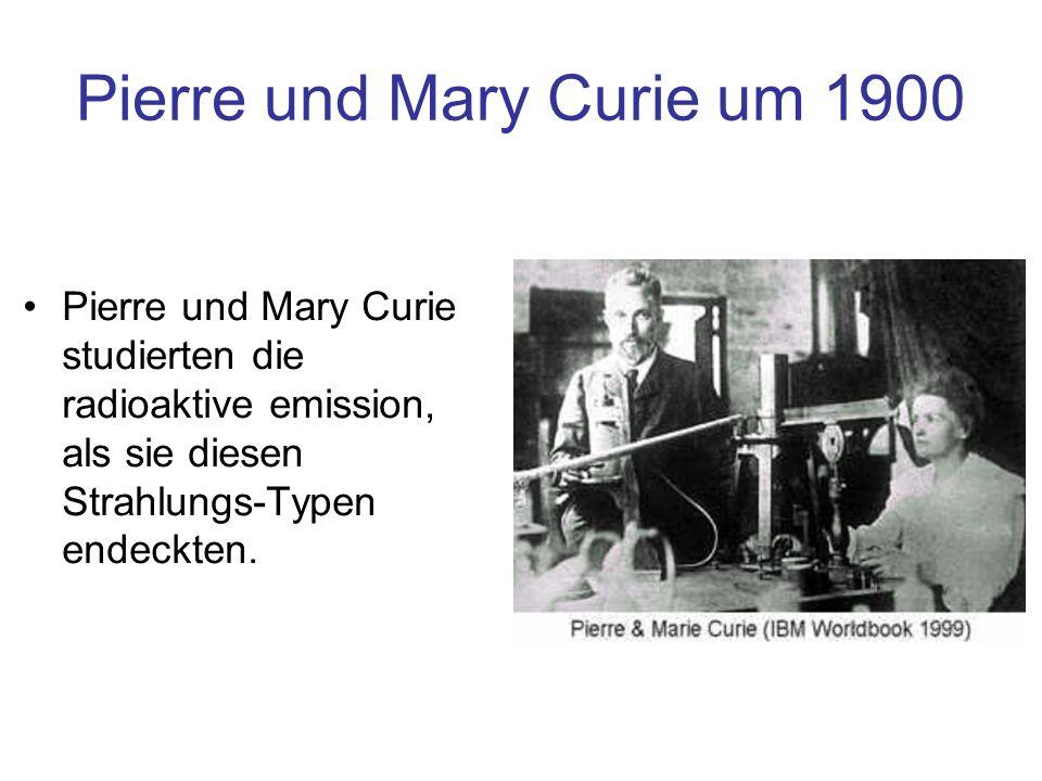 Pierre und Mary Curie um 1900