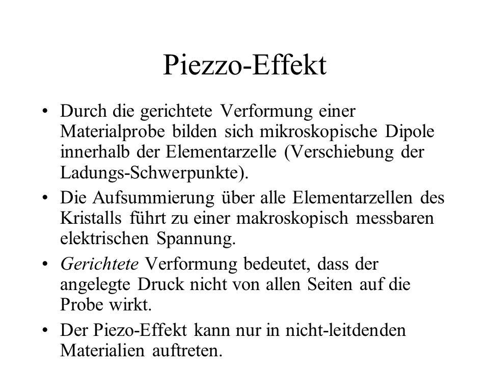 Piezzo-Effekt