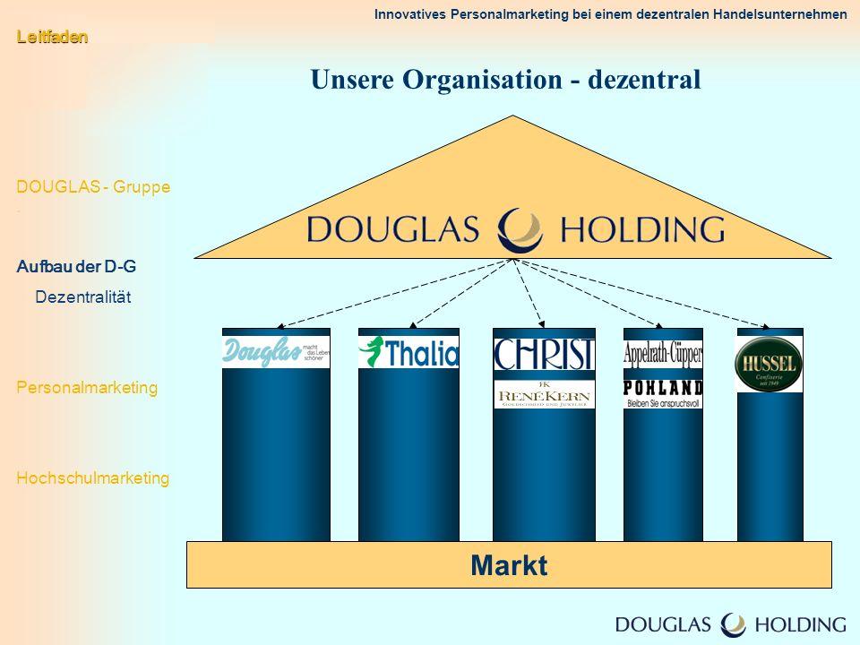 Unsere Organisation - dezentral