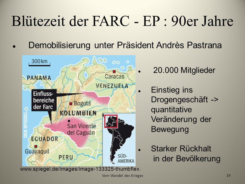 Blütezeit der FARC - EP : 90er Jahre