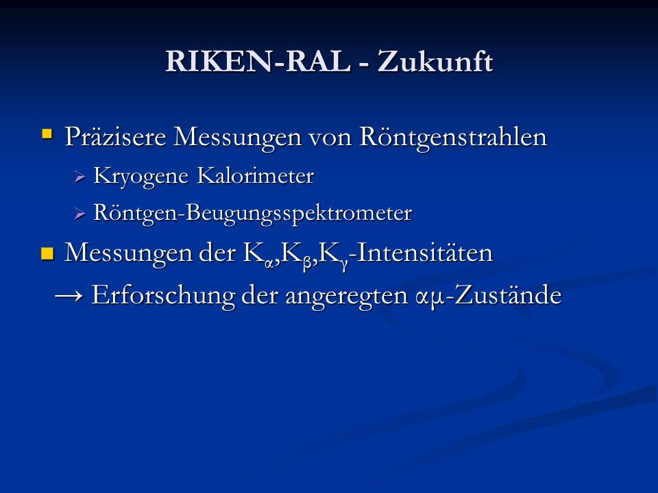 RIKEN-RAL - Zukunft Präzisere Messungen von Röntgenstrahlen