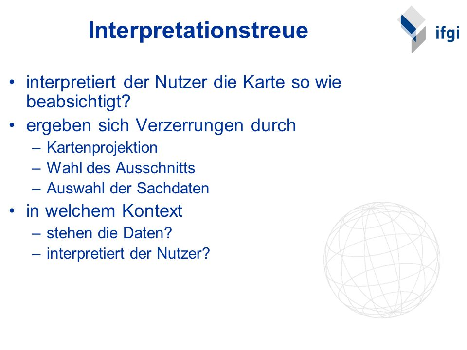Interpretationstreue