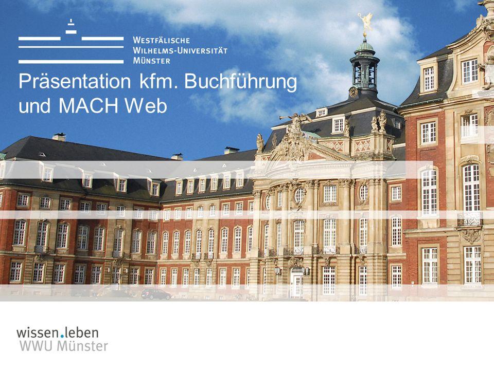 Präsentation kfm. Buchführung und MACH Web