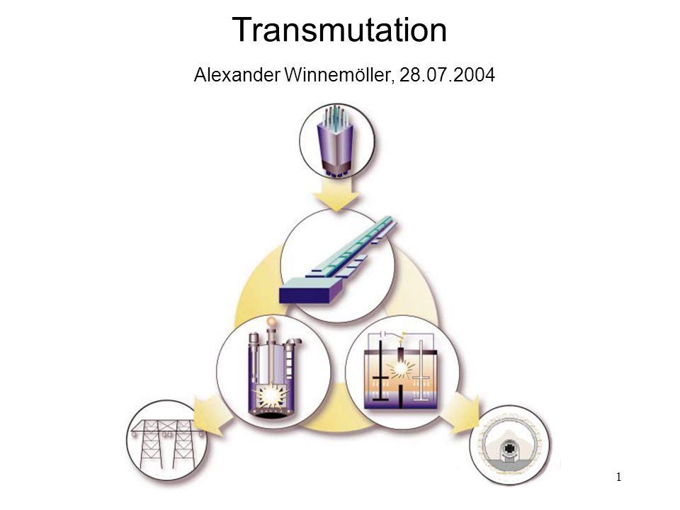 Transmutation Alexander Winnemöller, 28.07.2004