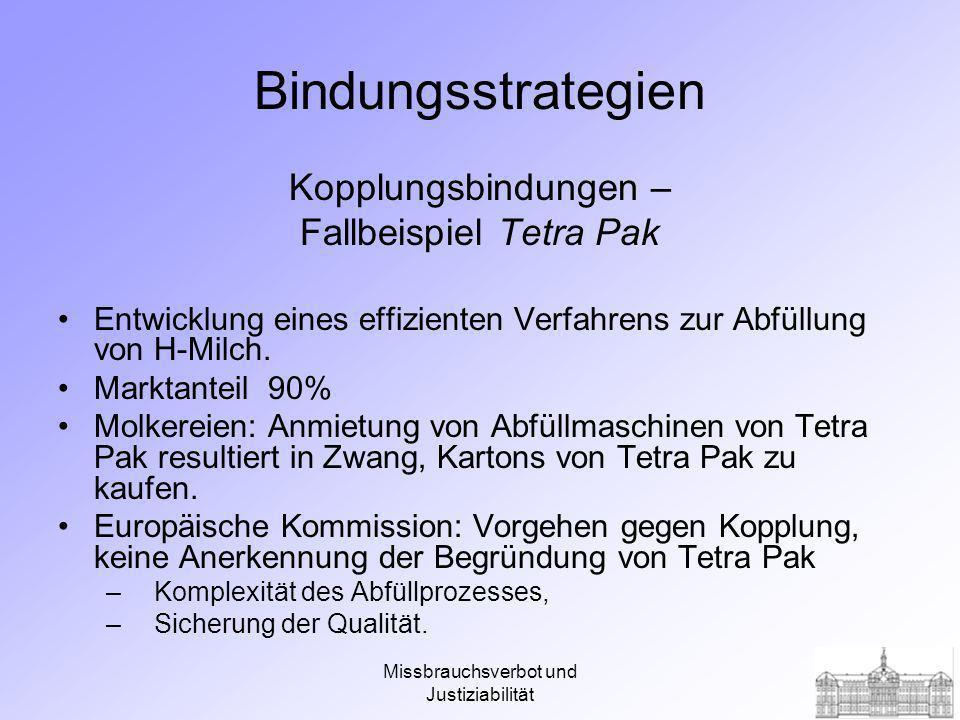 Bindungsstrategien Kopplungsbindungen – Fallbeispiel Tetra Pak