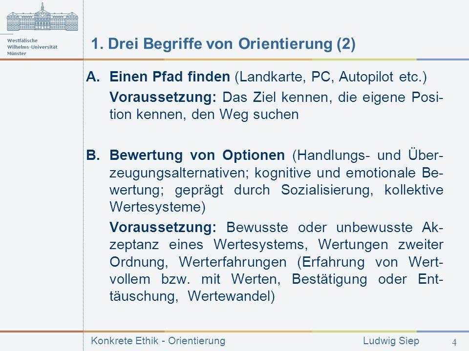 1. Drei Begriffe von Orientierung (2)
