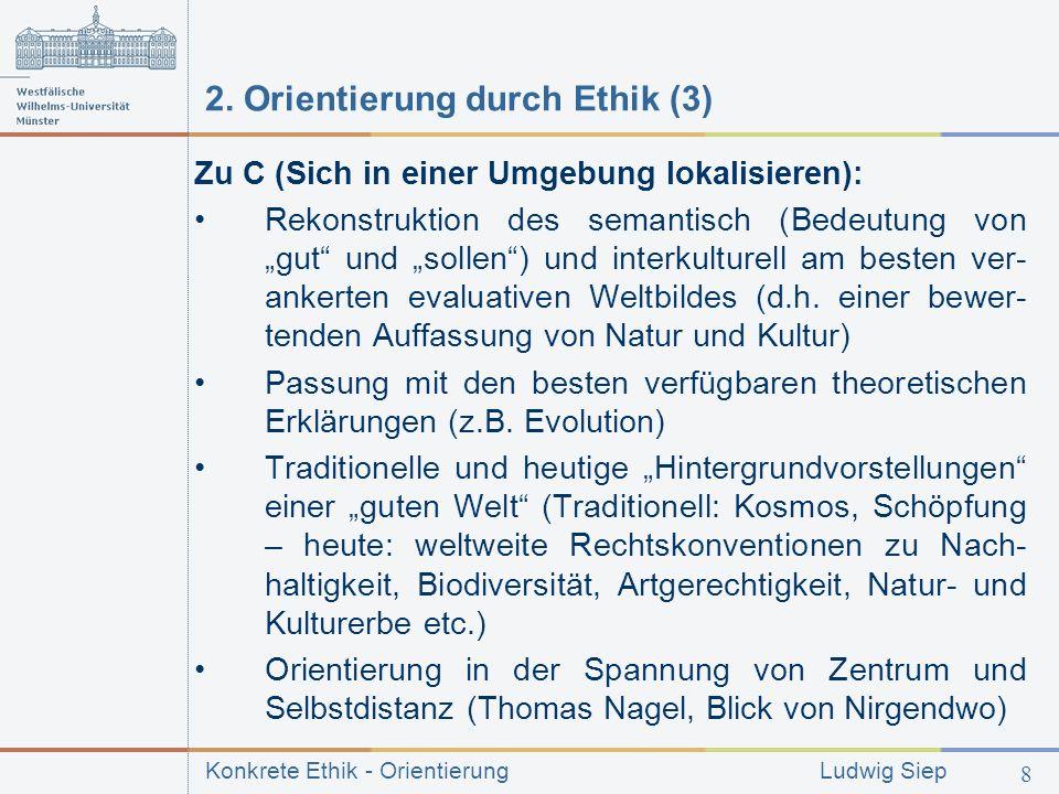 2. Orientierung durch Ethik (3)