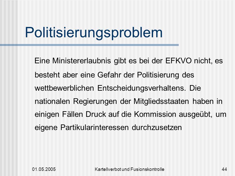 Politisierungsproblem
