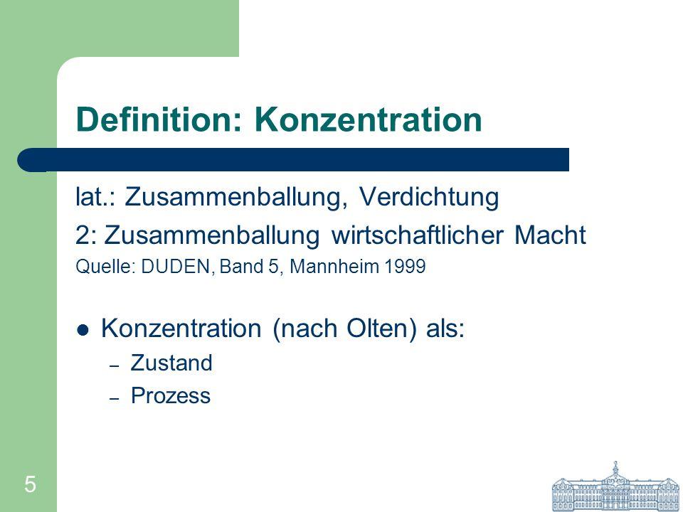 Definition: Konzentration