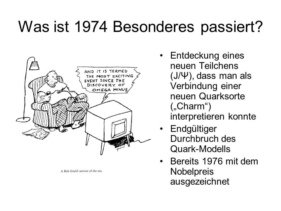 Was ist 1974 Besonderes passiert