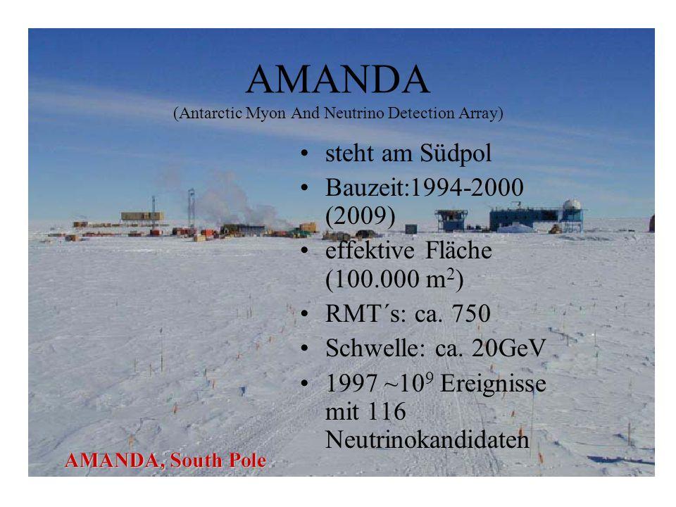 AMANDA (Antarctic Myon And Neutrino Detection Array)