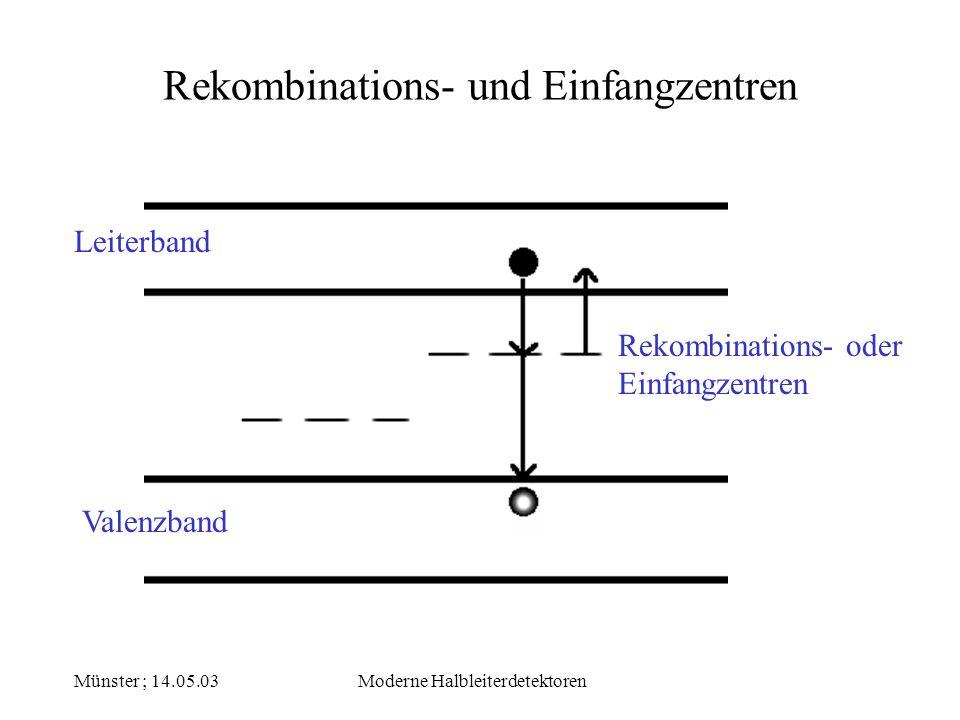 Rekombinations- und Einfangzentren