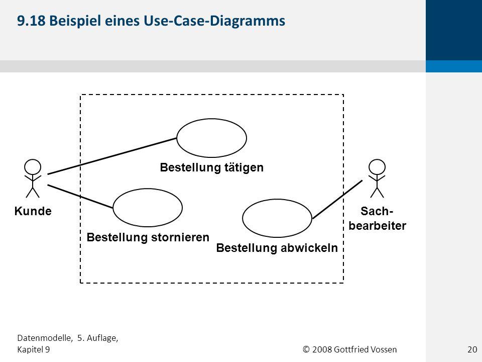 9.18 Beispiel eines Use-Case-Diagramms
