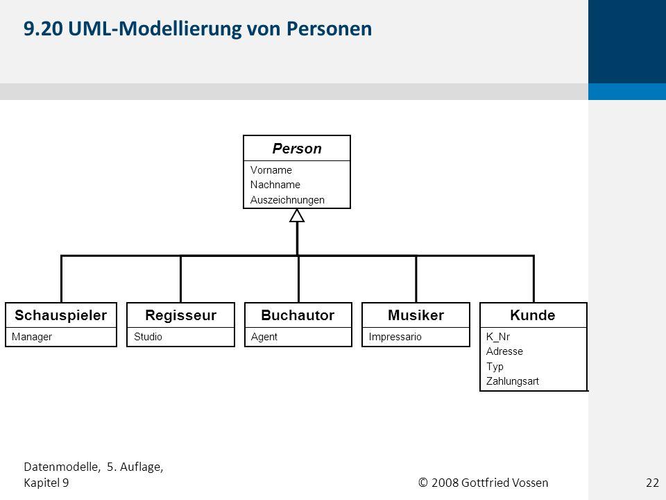 9.20 UML-Modellierung von Personen