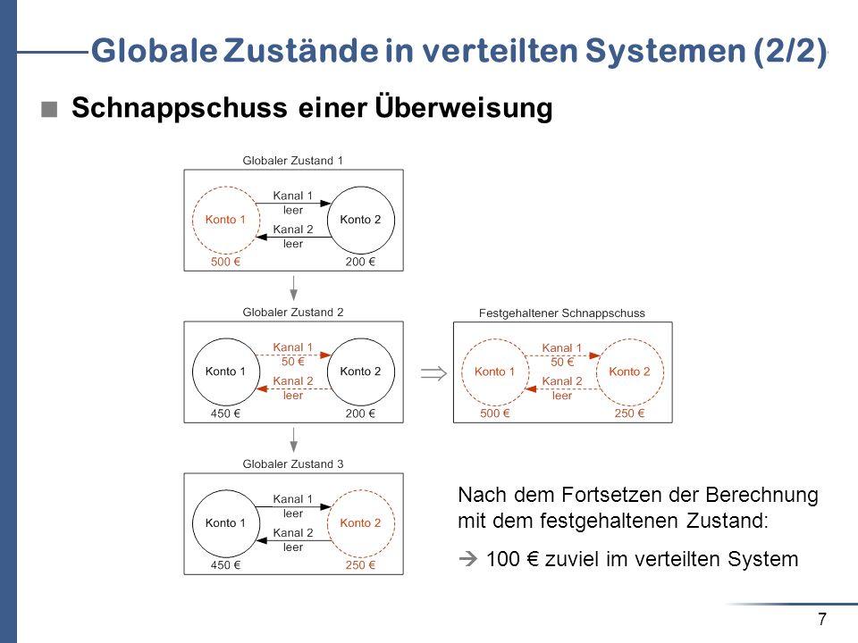 Globale Zustände in verteilten Systemen (2/2)
