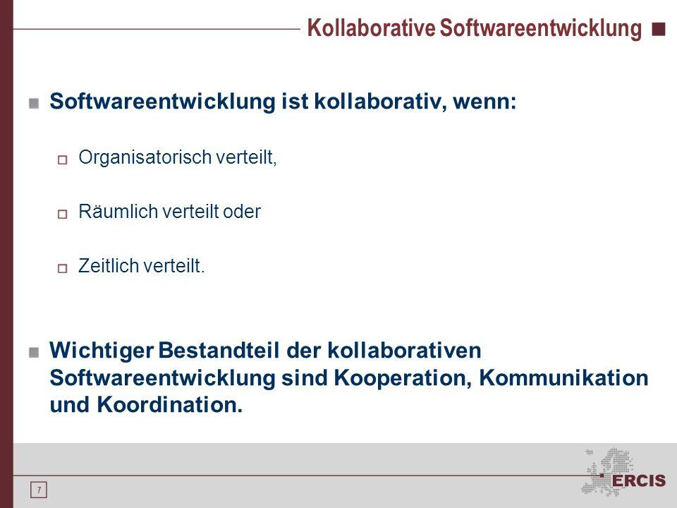 Kollaborative Softwareentwicklung