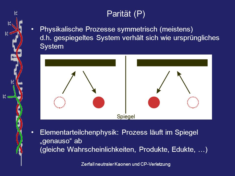 Zerfall neutraler Kaonen und CP-Verletzung