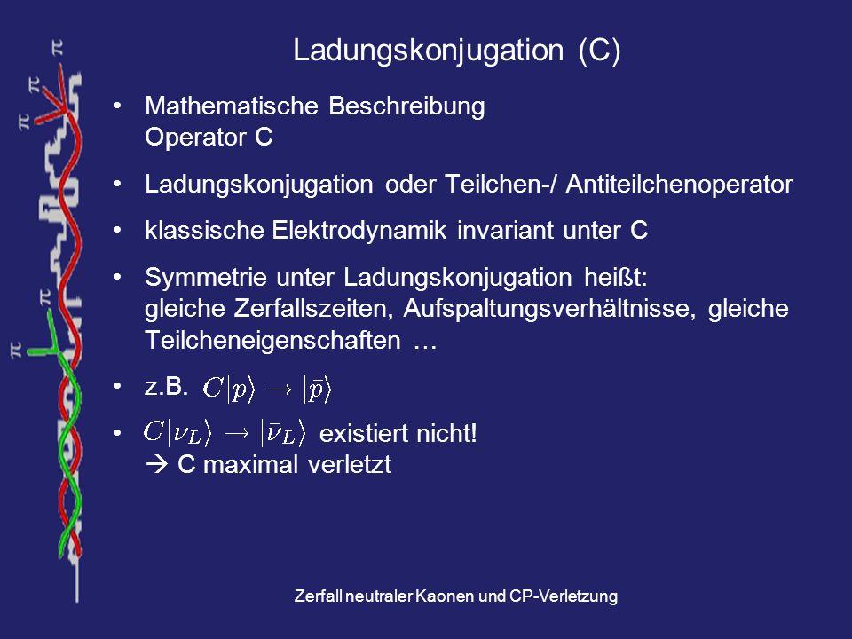 Ladungskonjugation (C)