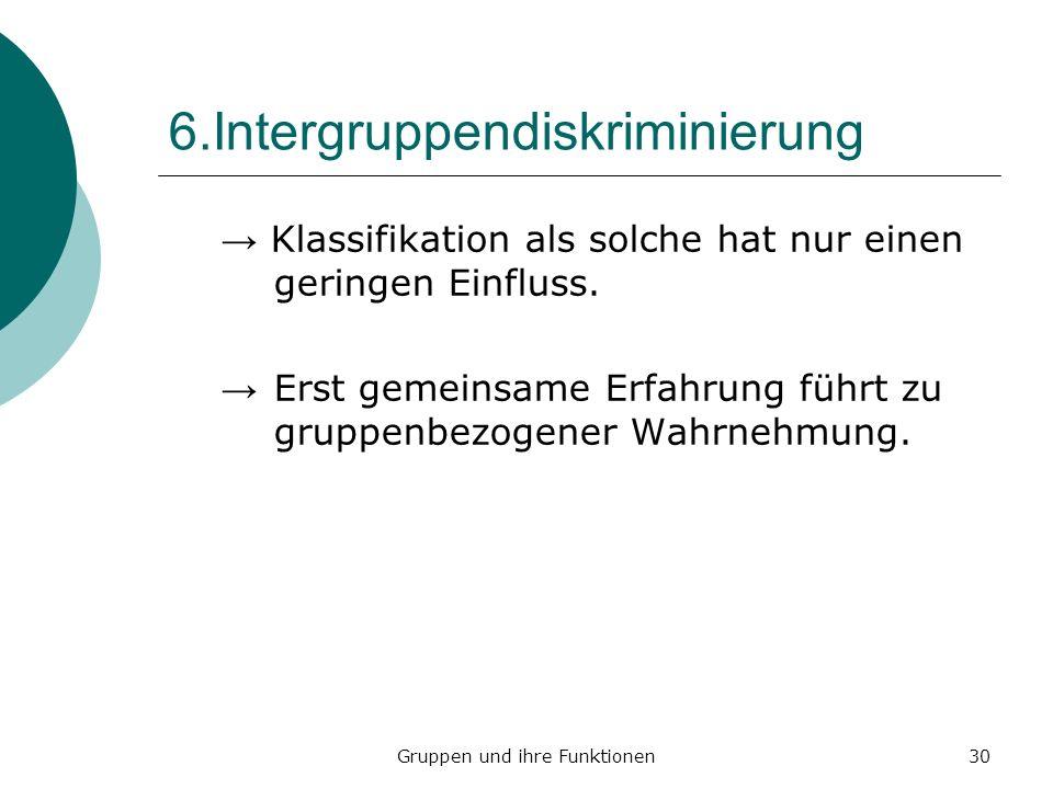 6.Intergruppendiskriminierung