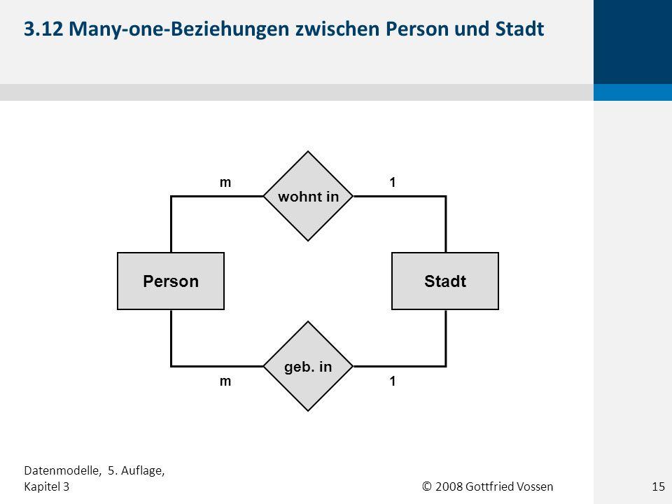 3.12 Many-one-Beziehungen zwischen Person und Stadt