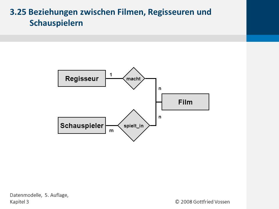 3.25 Beziehungen zwischen Filmen, Regisseuren und Schauspielern