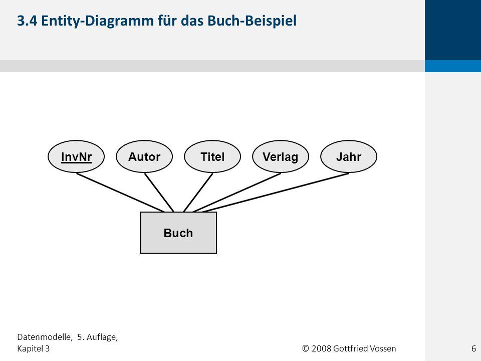 3.4 Entity-Diagramm für das Buch-Beispiel