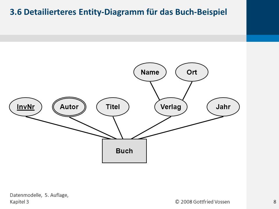 3.6 Detailierteres Entity-Diagramm für das Buch-Beispiel