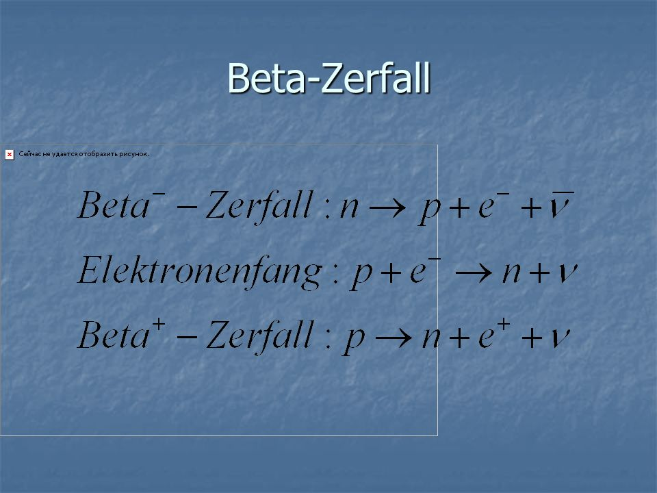Beta-Zerfall