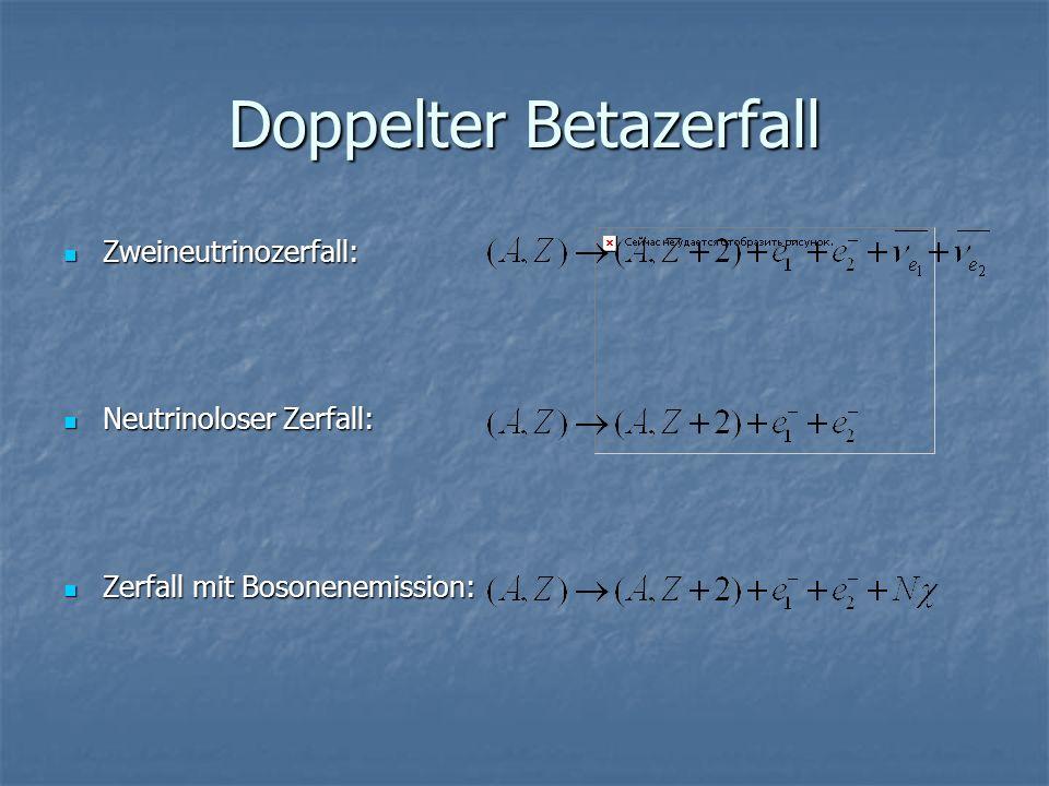 Doppelter Betazerfall