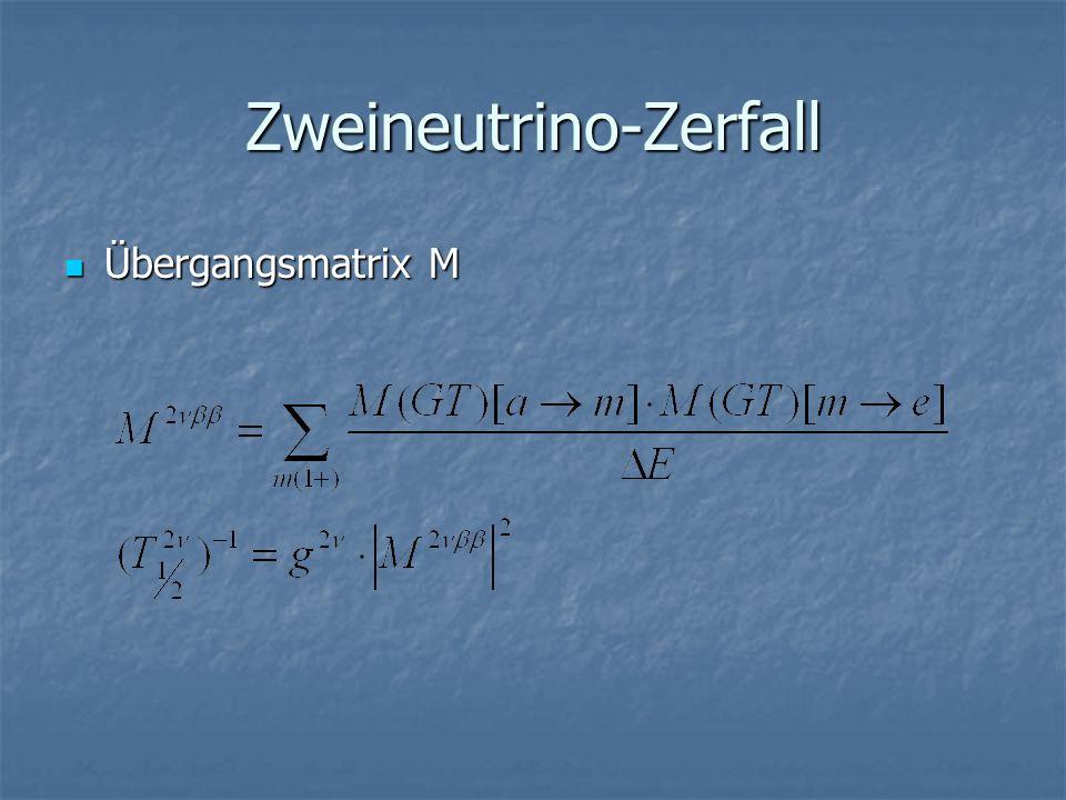 Zweineutrino-Zerfall