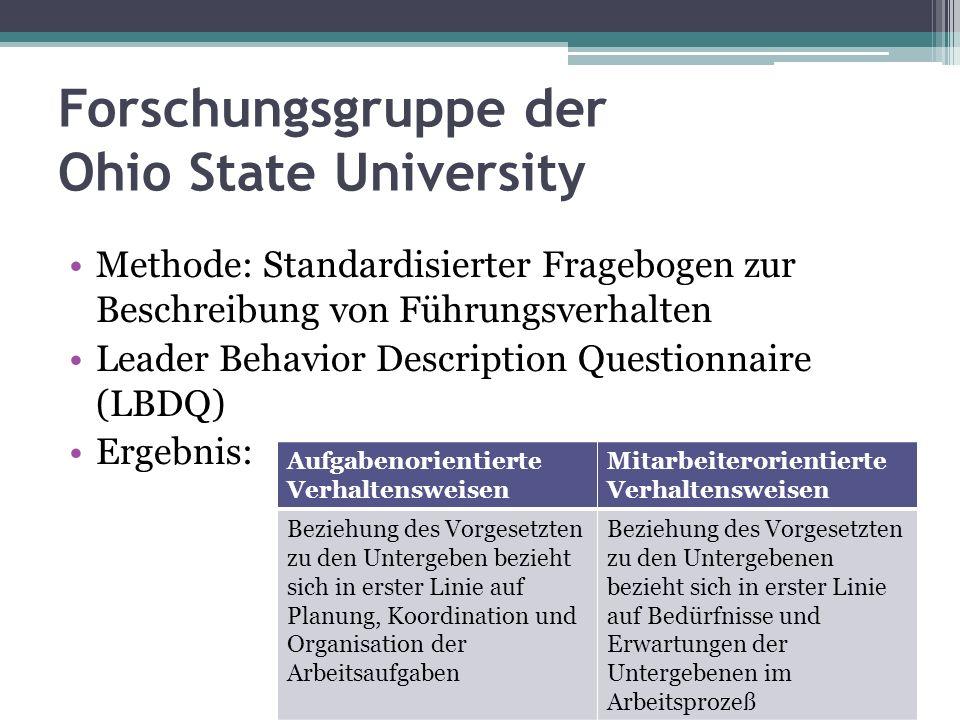 Forschungsgruppe der Ohio State University
