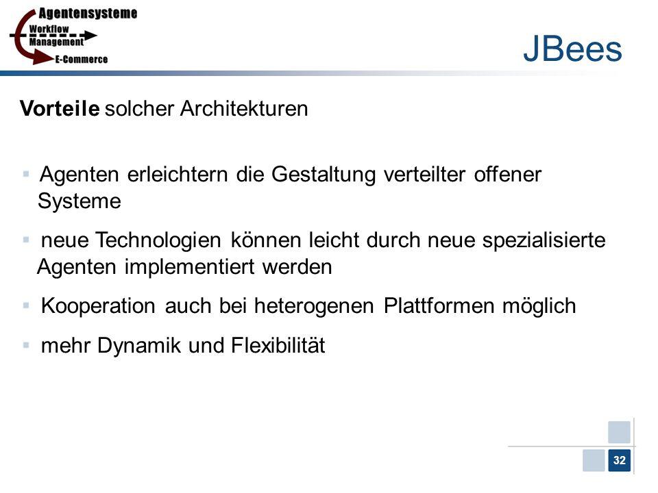 JBees Vorteile solcher Architekturen