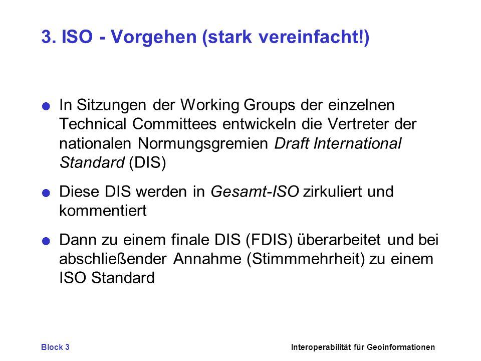 3. ISO - Vorgehen (stark vereinfacht!)