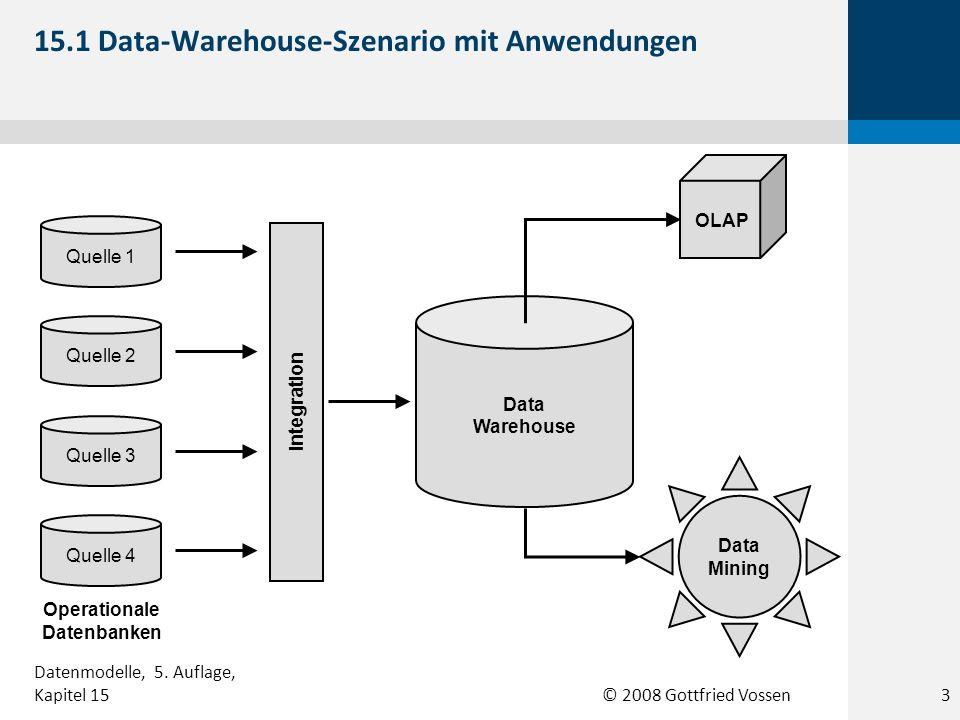15.1 Data-Warehouse-Szenario mit Anwendungen