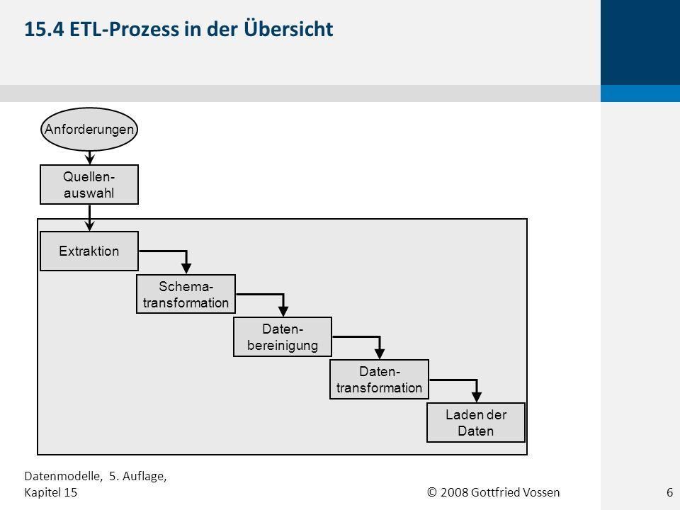 15.4 ETL-Prozess in der Übersicht