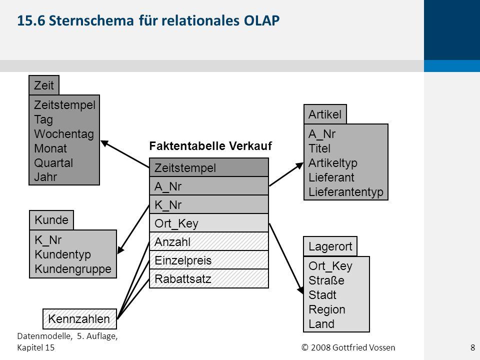 15.6 Sternschema für relationales OLAP