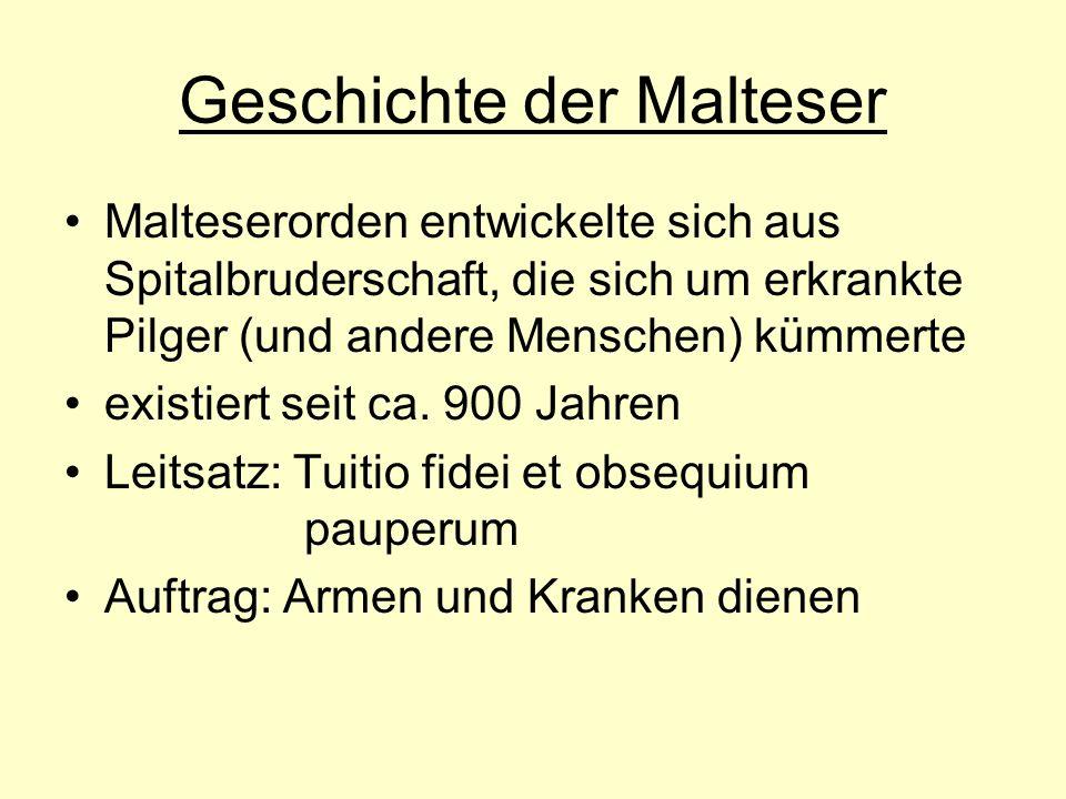 Geschichte der Malteser
