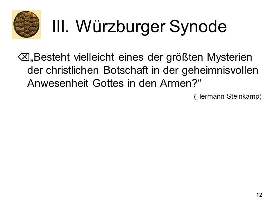 III. Würzburger Synode