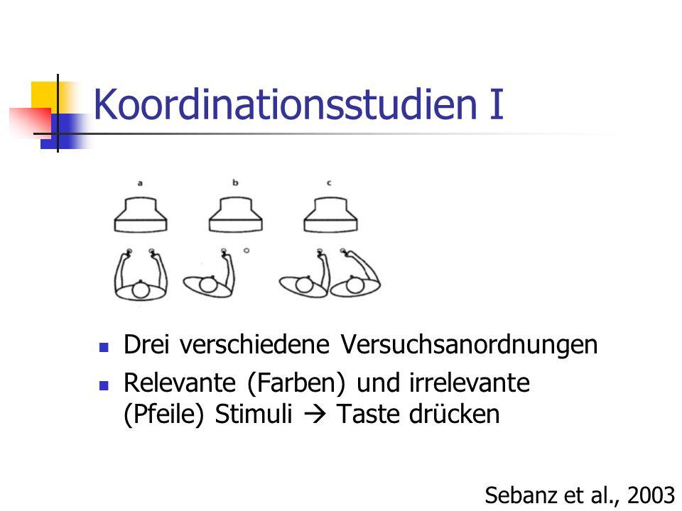 Koordinationsstudien I