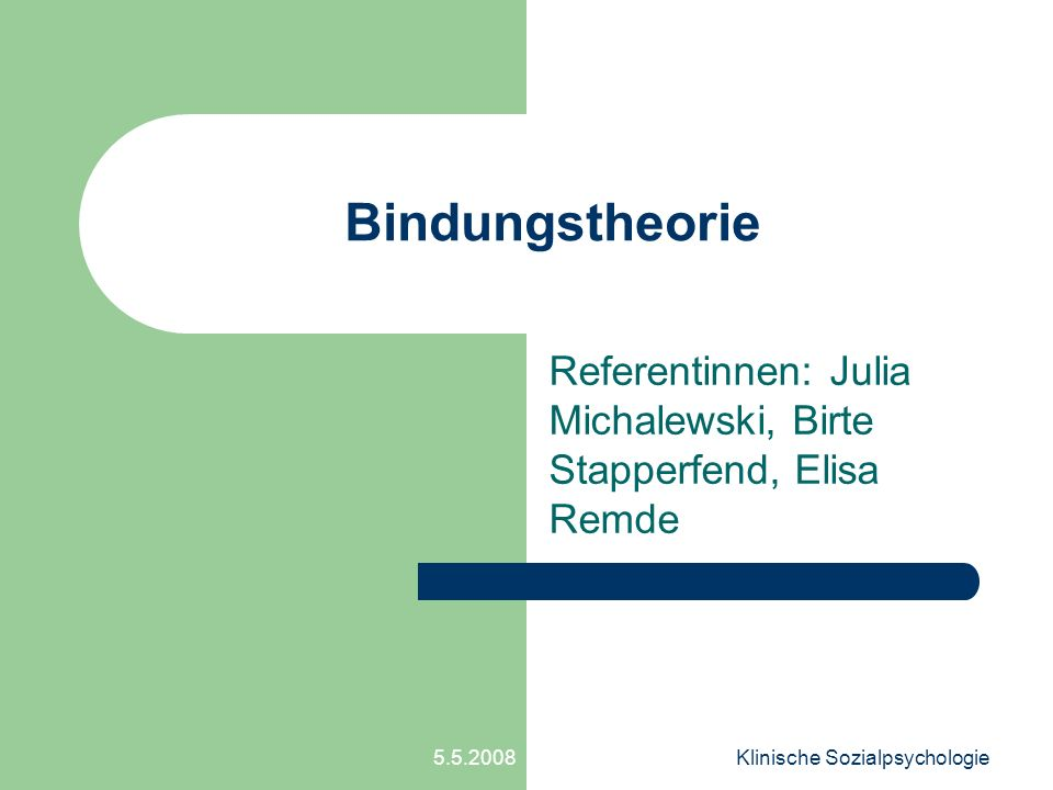 Referentinnen: Julia Michalewski, Birte Stapperfend, Elisa Remde