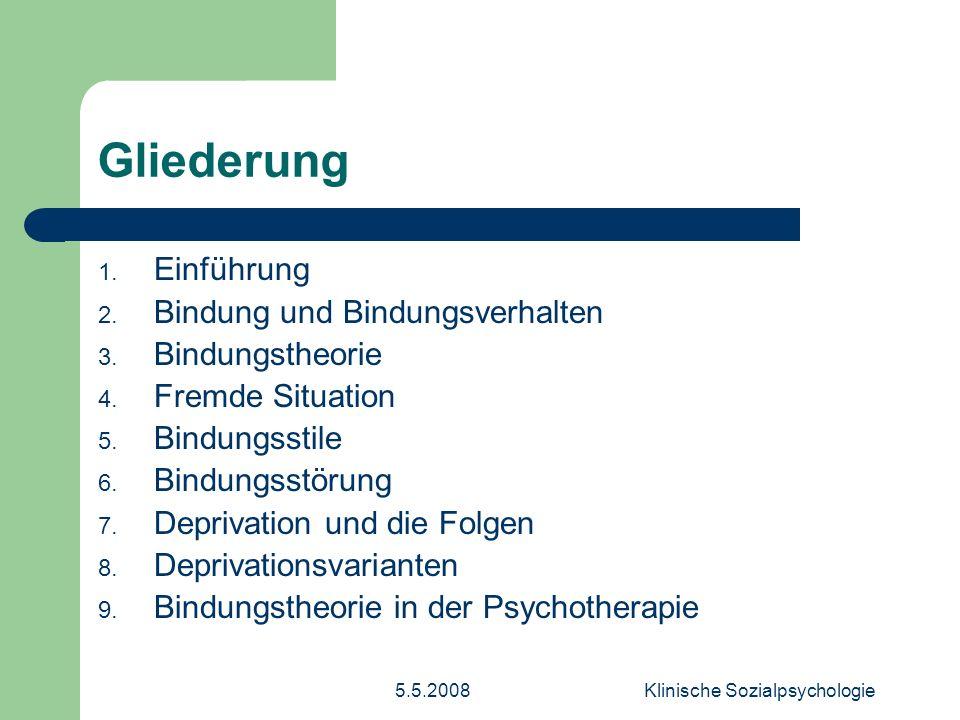Klinische Sozialpsychologie