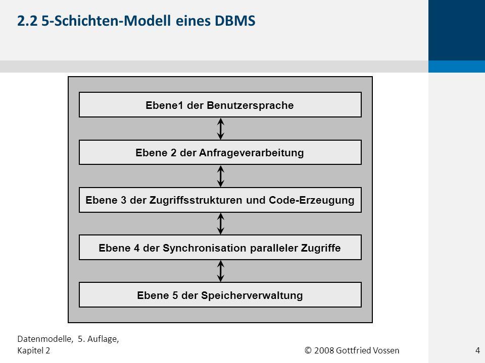 2.2 5-Schichten-Modell eines DBMS