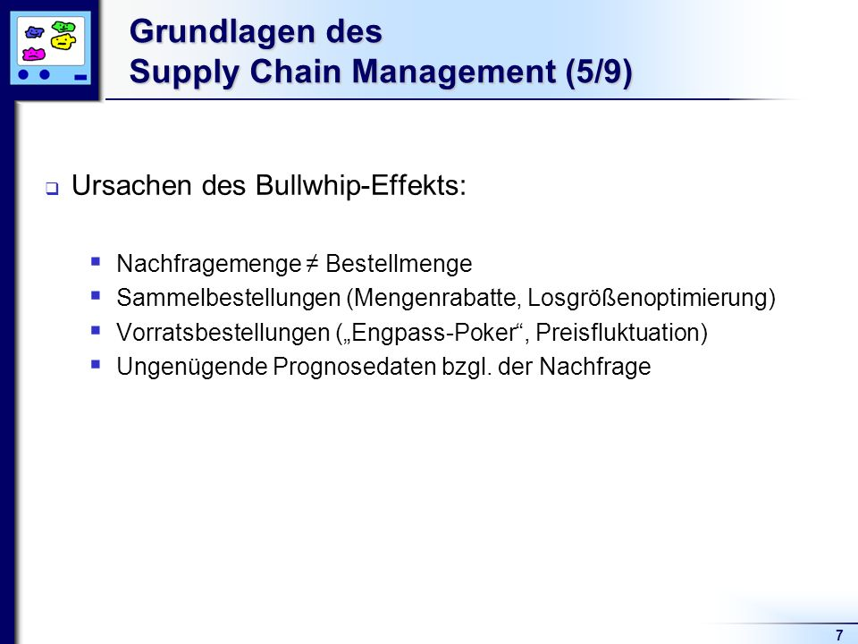 Grundlagen des Supply Chain Management (5/9)