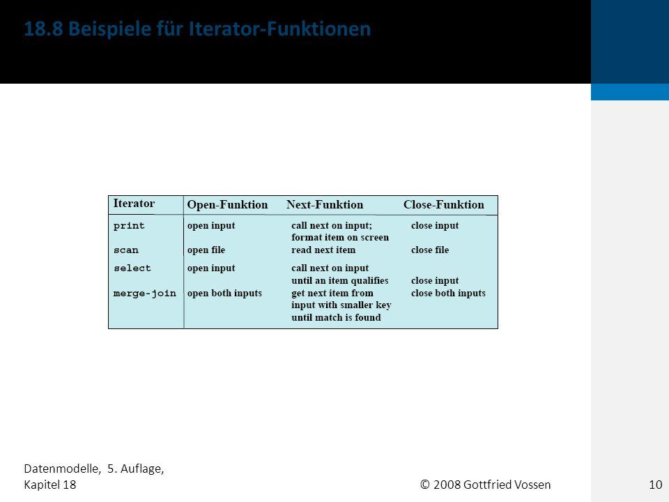 18.8 Beispiele für Iterator-Funktionen