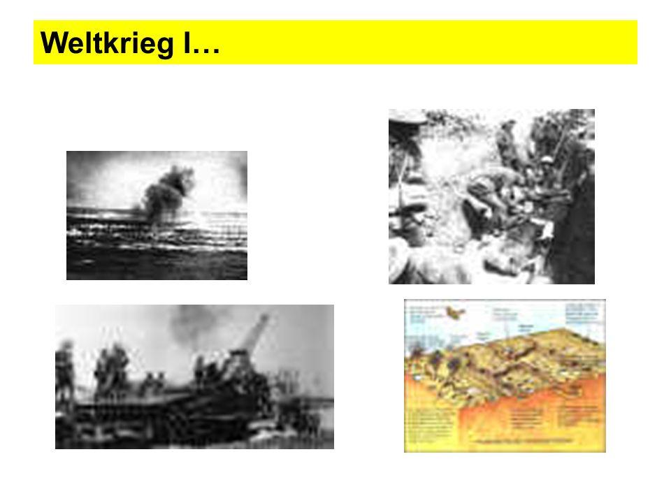 Weltkrieg I…