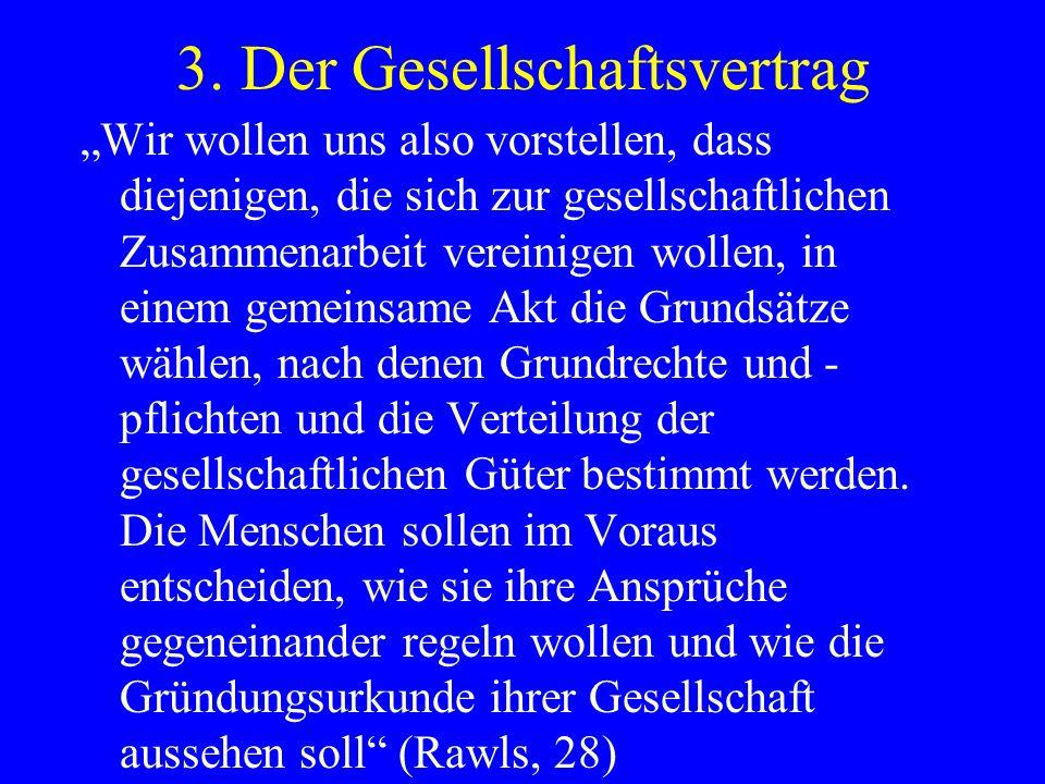3. Der Gesellschaftsvertrag
