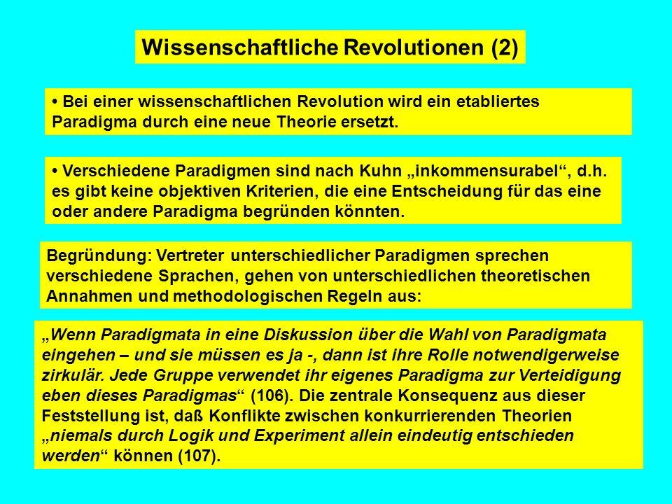 Wissenschaftliche Revolutionen (2)