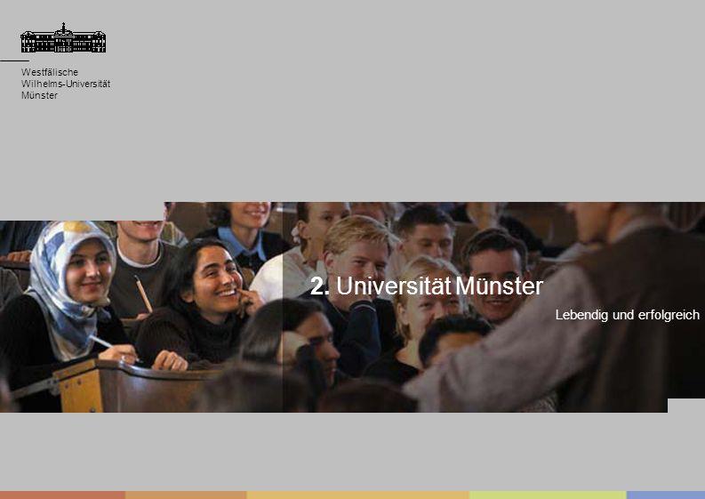 2. Universität Münster Lebendig und erfolgreich Westfälische