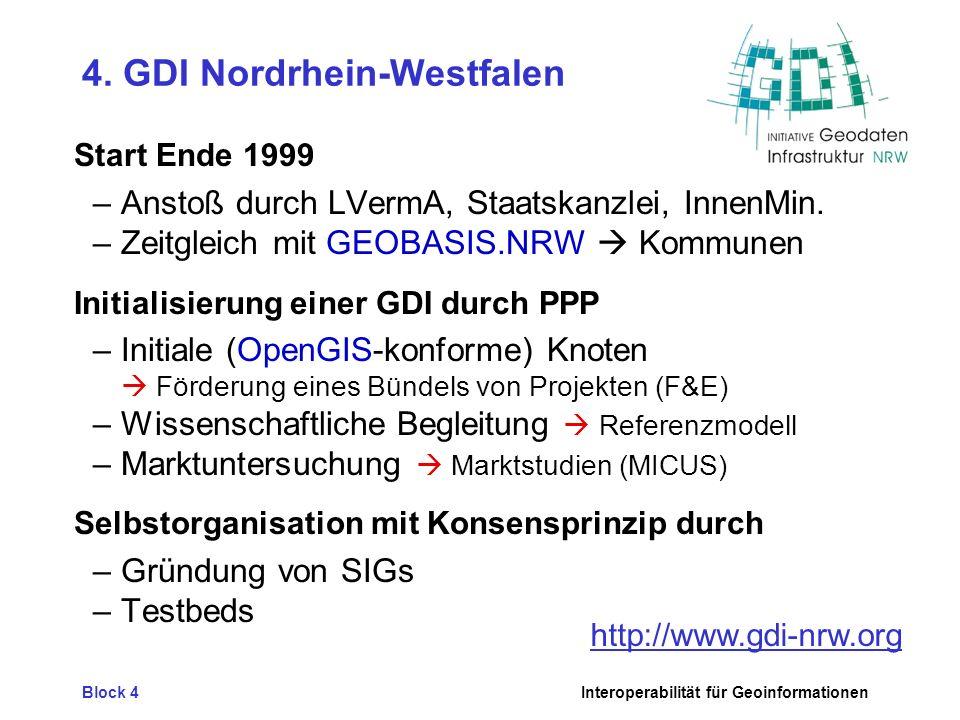 4. GDI Nordrhein-Westfalen